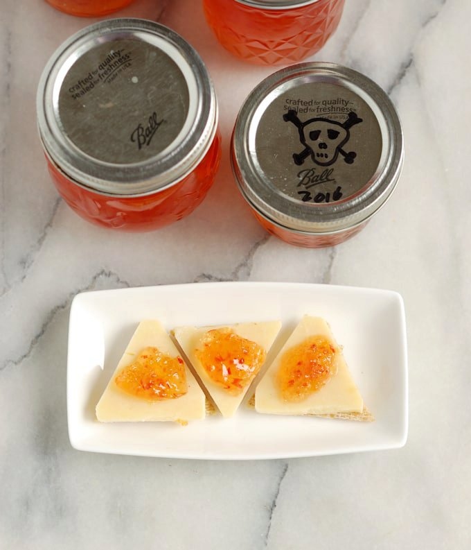 Ghost Pepper Jelly –  Bhut jolokia Jelly